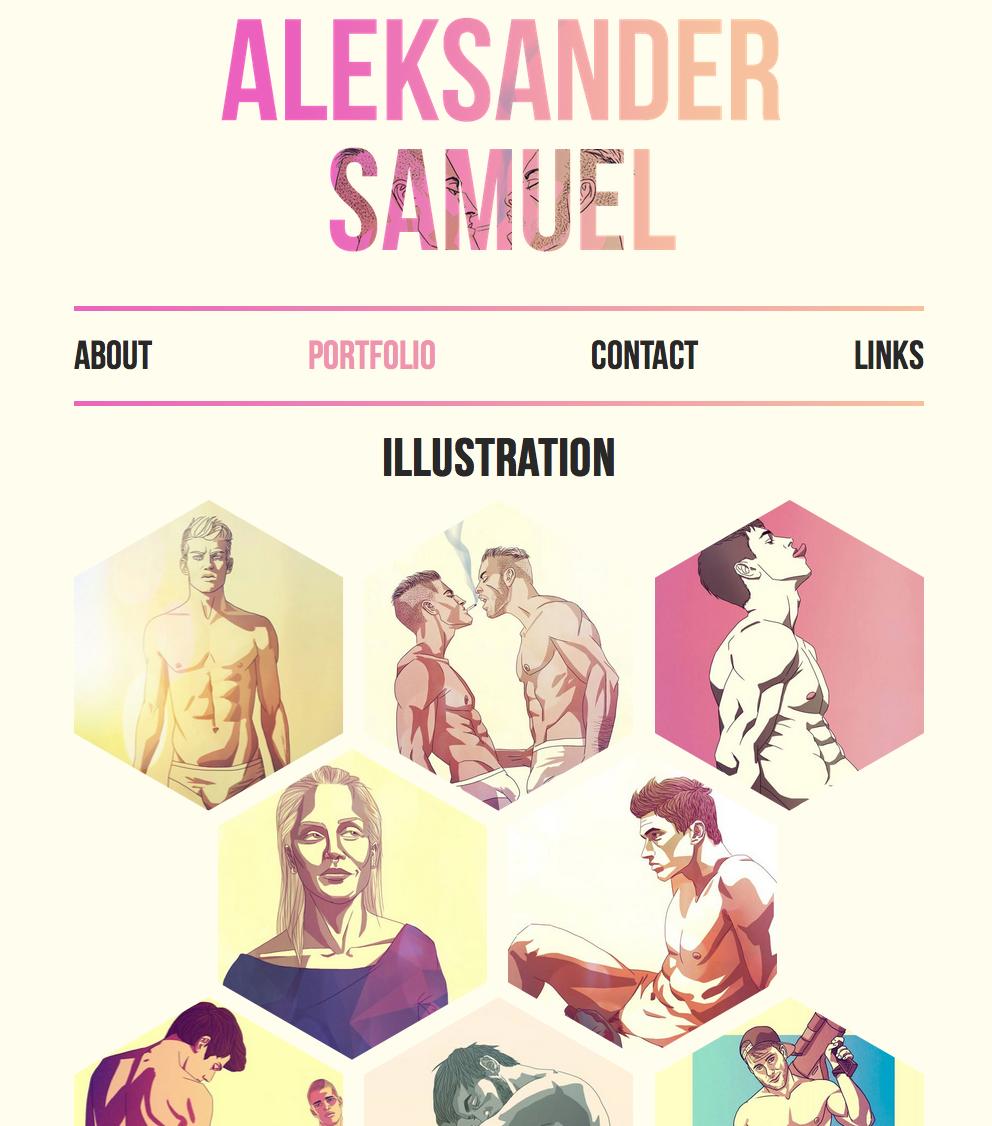 Portfolio of Aleksander Samuel