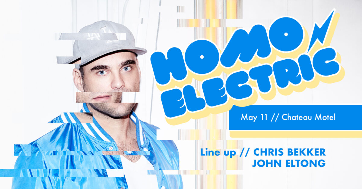 Homo Electric May 2019 Chris Bekker